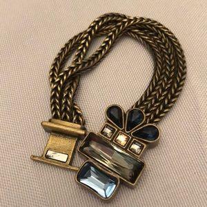 Silpada K&R Blue Streak Bracelet